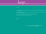 View More Information on Kaz The Designer