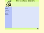 View More Information on Hellene Food Brokers