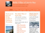 View More Information on The Bella Villas Of Jervis Bay