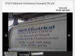 View More Information on M & M Electrical Contractors (Australia) Pty Ltd