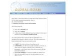 View More Information on Global Roam
