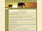 View More Information on Tanzania Wildlife Safaris