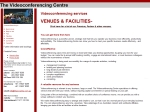 View More Information on The Videoconferencing Centre