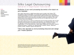 View More Information on Silks Legal Outsourcing
