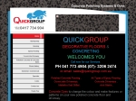 View More Information on Quickgroup