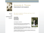 View More Information on Amanda A Thorpe