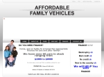 View More Information on Affordable Family Vehicles