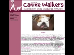 View More Information on Canine Walkers
