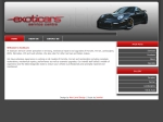 View More Information on Exoticars Centre