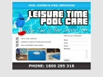View More Information on Leisure Time Pool Care