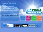View More Information on 1300 4 Web Design