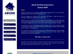 View More Information on Abode Building Inspections