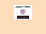 View More Information on Julala's Tuition