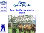 View More Information on Alpine Game Meats