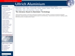 View More Information on Ullrich Aluminium