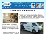 View More Information on Chem-Dry Of Orange Carpet Cleaning
