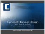 View More Information on Concept Stainless Design