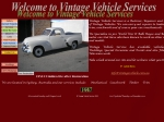 View More Information on Vintage Vehicle Services
