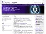 View More Information on Department Of Infrastructure - Multimedia Victoria