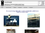View More Information on Hi-Stage Lightweight Lowcost Mobile/Standing Scaffold