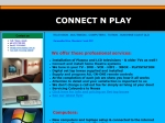 View More Information on Connect N Play