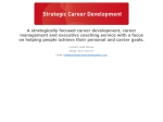 View More Information on Strategic Career Development
