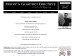 View More Information on Moore's Gourmet Butchery