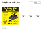 View More Information on Payless Shoes Pty Ltd, Dapto