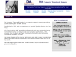 View More Information on Da Computer Training & Repairs