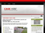 View More Information on Cage Temporary Fencing