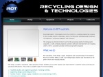 View More Information on Recycling Design & Technologies (Aust) Pty Ltd
