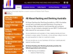 View More Information on All About Racking & Shelving Australia North Brisbane