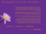 View More Information on Kings Taste Of Thailand