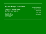 View More Information on Byron Bay Chambers
