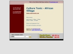 View More Information on African Village