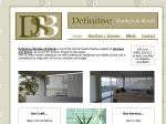 View More Information on Definitive Shutters & Blinds