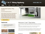 View More Information on T & T Tiling And Painting