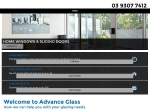 View More Information on Advance Glass Pty Ltd