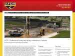 View More Information on Australian Foundation Drilling & Shoring Contractors
