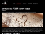 View More Information on Doughboy Pizza Surry Hills
