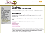 View More Information on Timesavers