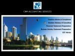 View More Information on CNM Accounting Services Pty Ltd