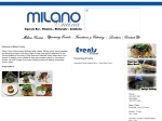 View More Information on Milano Cucina