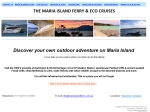 View More Information on Maria Island Ferry & Eco Cruises