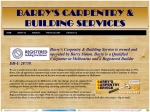 View More Information on Barry's Carpentry Srevice