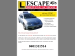 View More Information on Escape Driving School