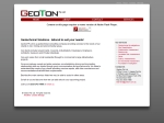 View More Information on Geoton Pty Ltd