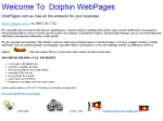 View More Information on Dolphin Webpages
