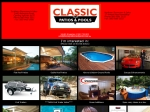 View More Information on Classic Patios & Pools