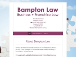 View More Information on Bampton Law